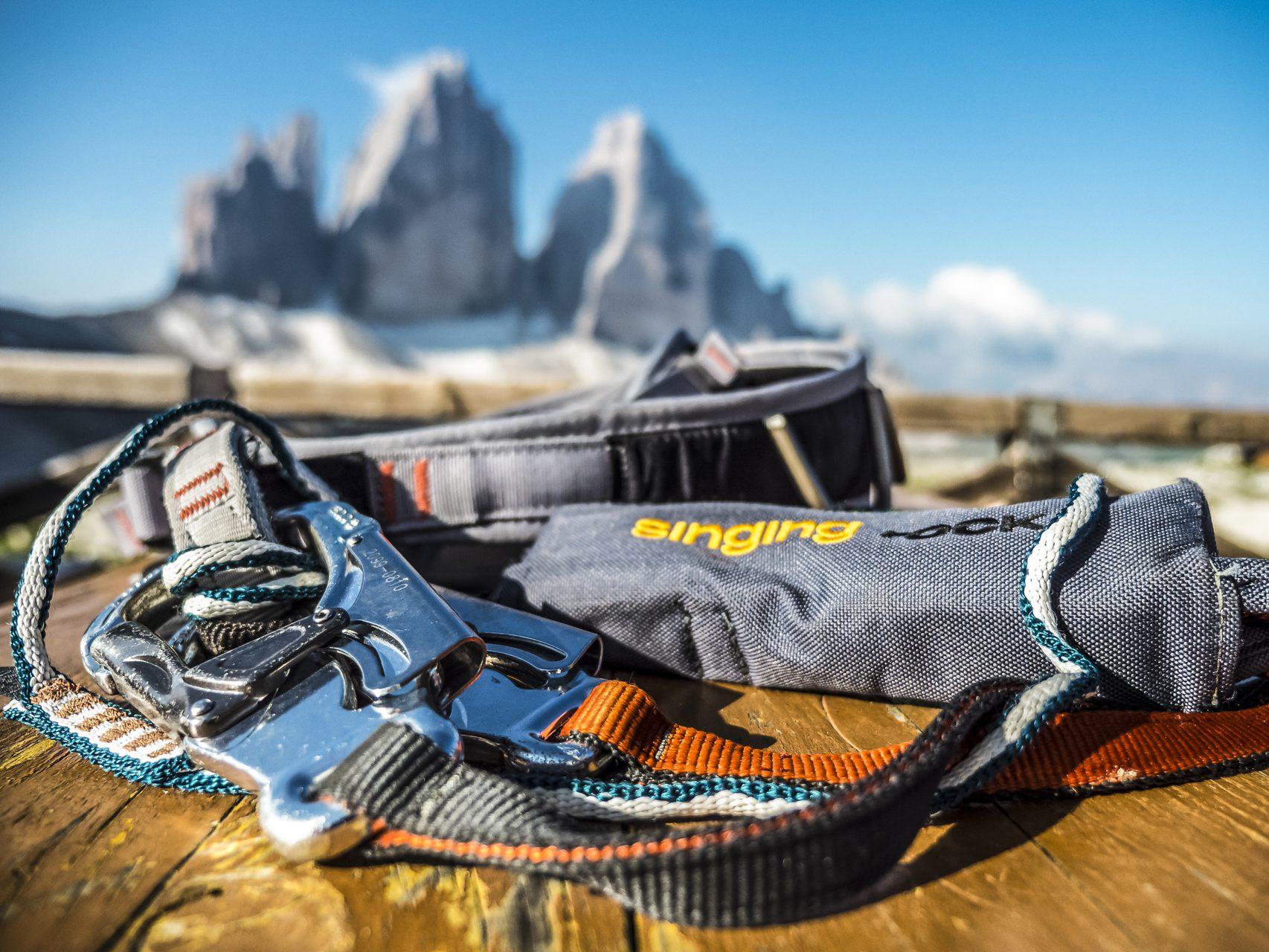 Klettersteig-Set mit Drei Zinnen