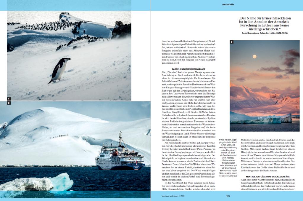 forschungen in der antarktis