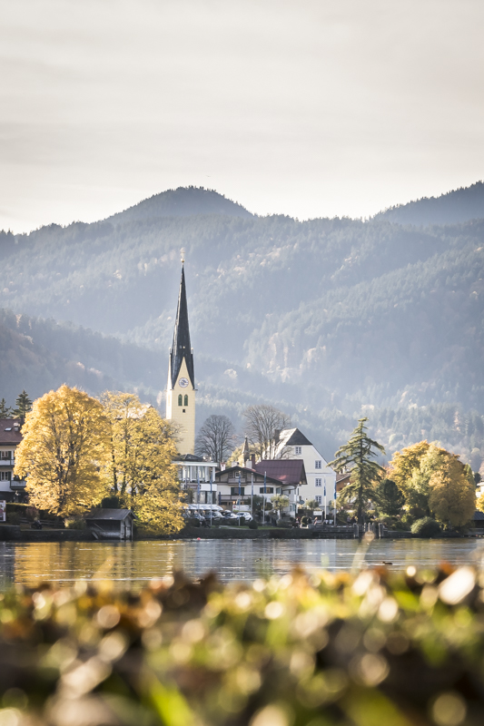 Egerner Bucht und Rottach-Egern * The bay of Rottach-Egern