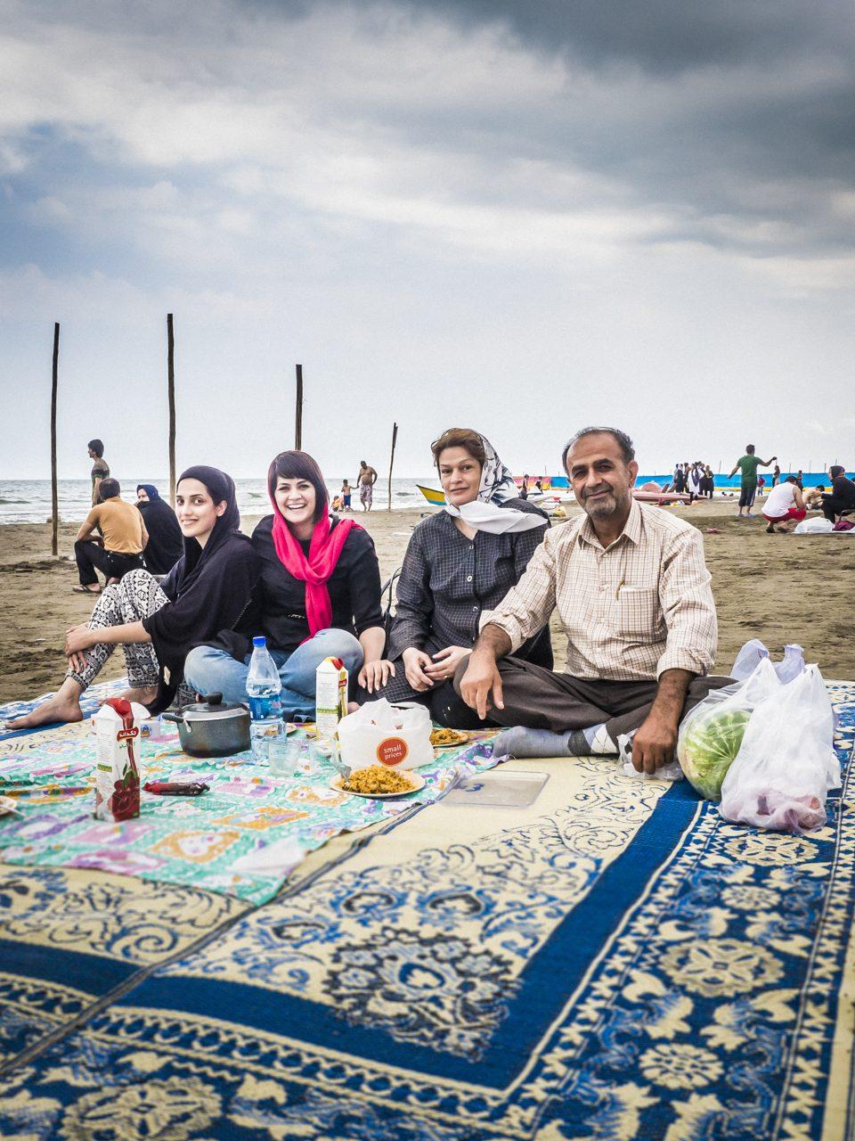 Iran, Royan, Strand am  Kaspischen Meer, Asien, 11.07.2014