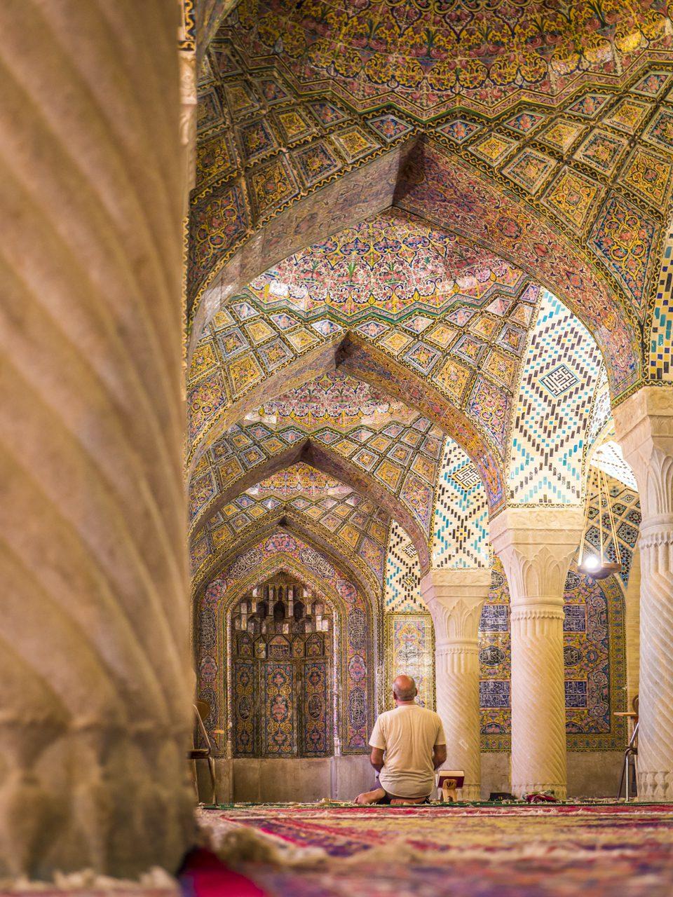 Iran, Schiras, Nasiral-Mulk-Moschee, Asien, 16.07.2014