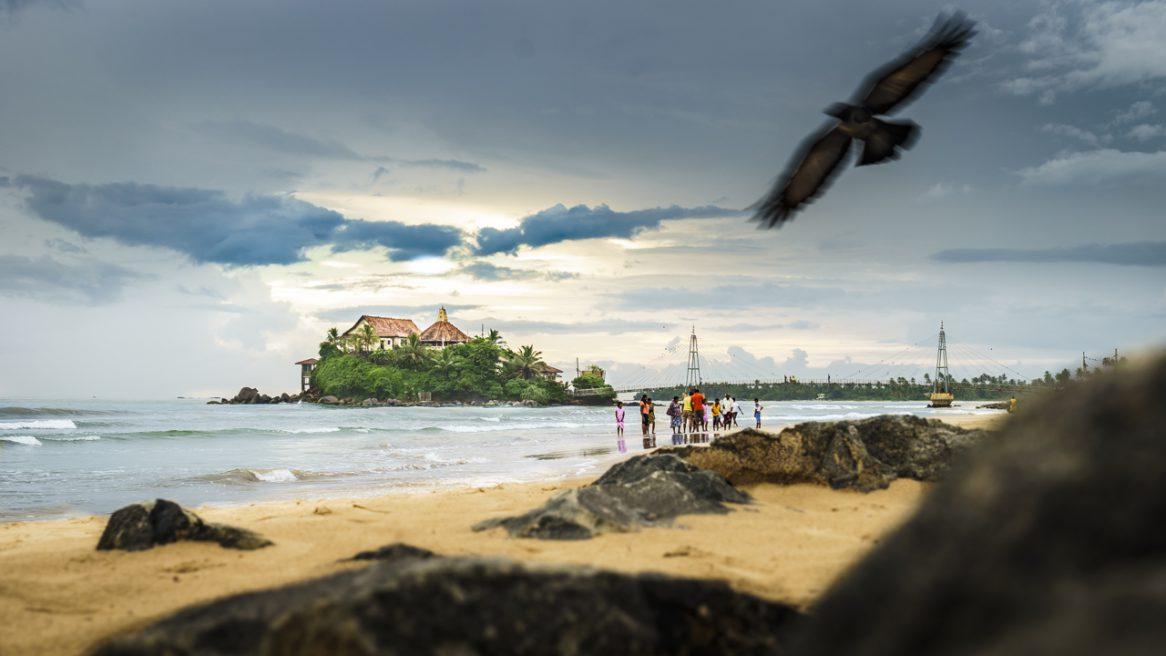 Durch den Monsun auf Sri Lanka