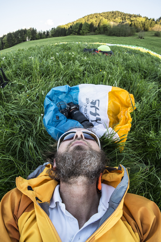 Fotoshooting für Sky Paragliiders
