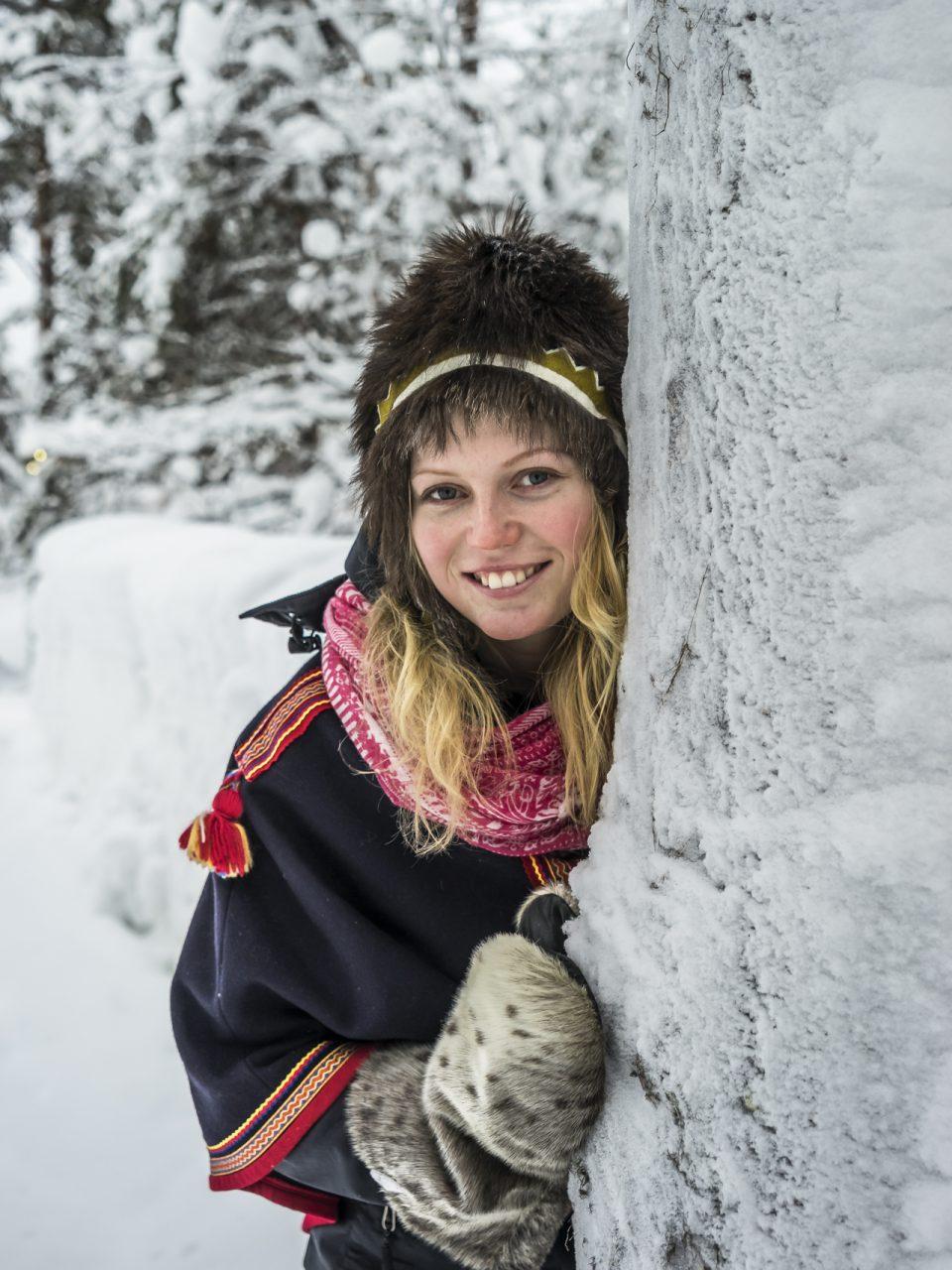 Finnisch-Lappland im Winter