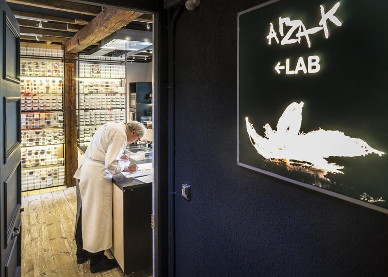 """Experimentierküche """"Arzak Lab"""" im Restaurant von Starkoch Juan Marí Arzak (nicht im Bild)"""