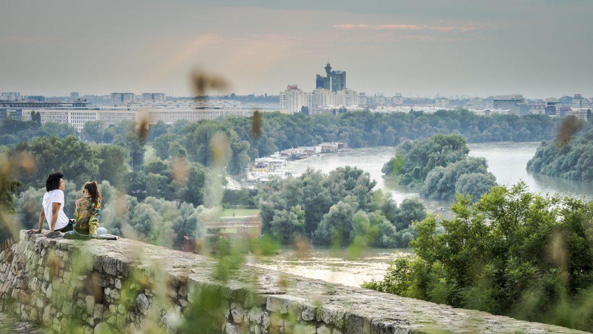 Belgrad – Stadt, Land, 2x Fluss