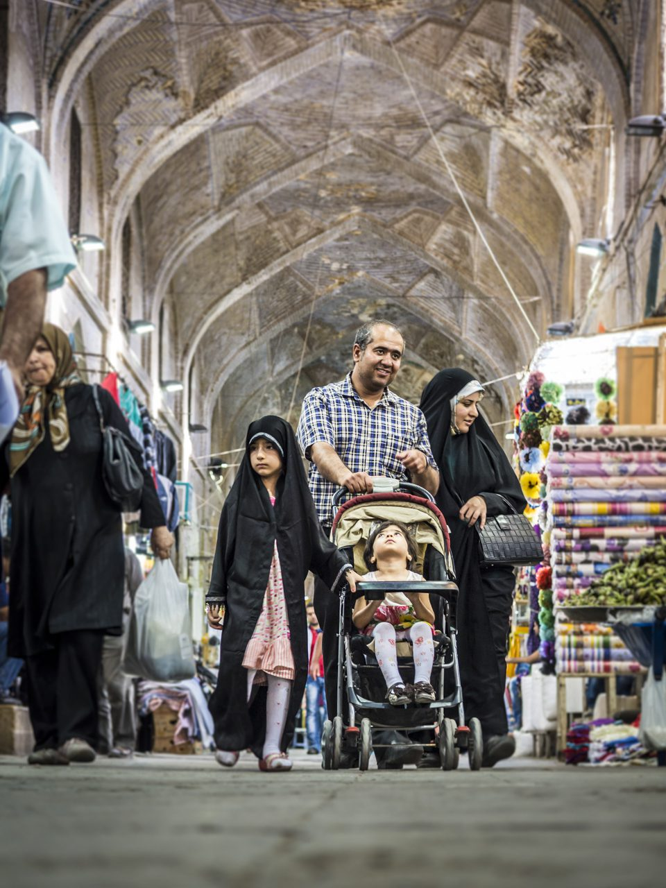 Iran, Schiras, Basar, Asien, 16.07.2014