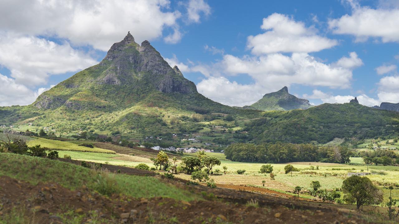 Pieter Both, mit 820 Metern Höhe der zweithöchste Berg auf Mauritius