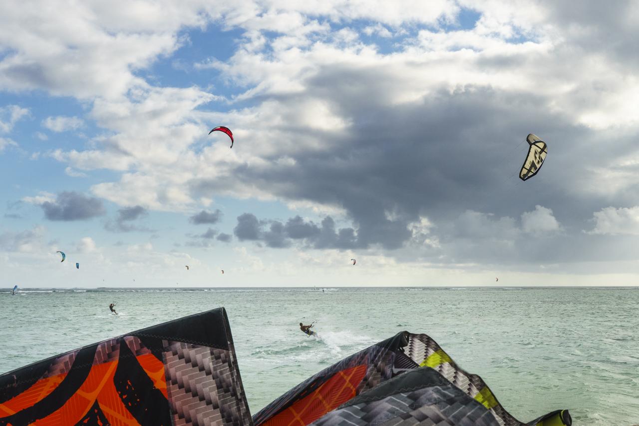 Kitestrand One Eye bei Le Morne, der beste auf Mauritius