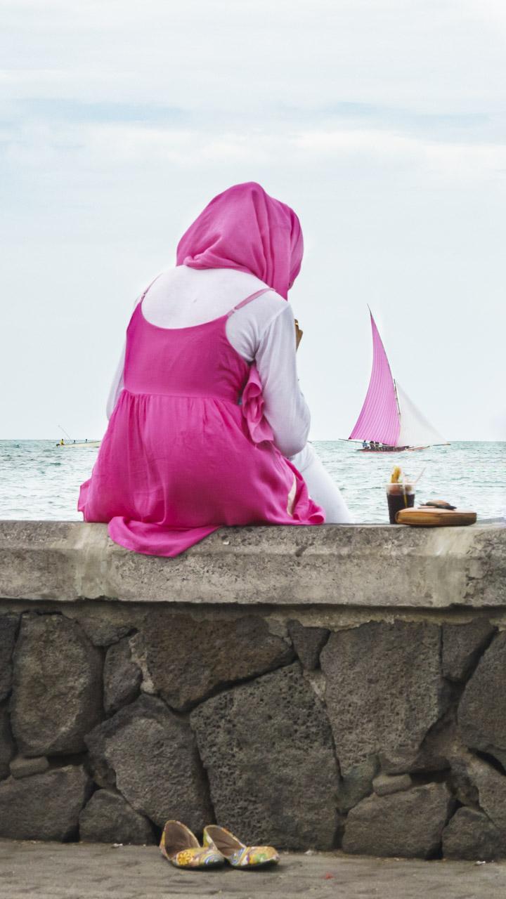 Passendes Outfit: Die Regatta in Mahebourg gibt es schon seit dem 19. Jahrhundert