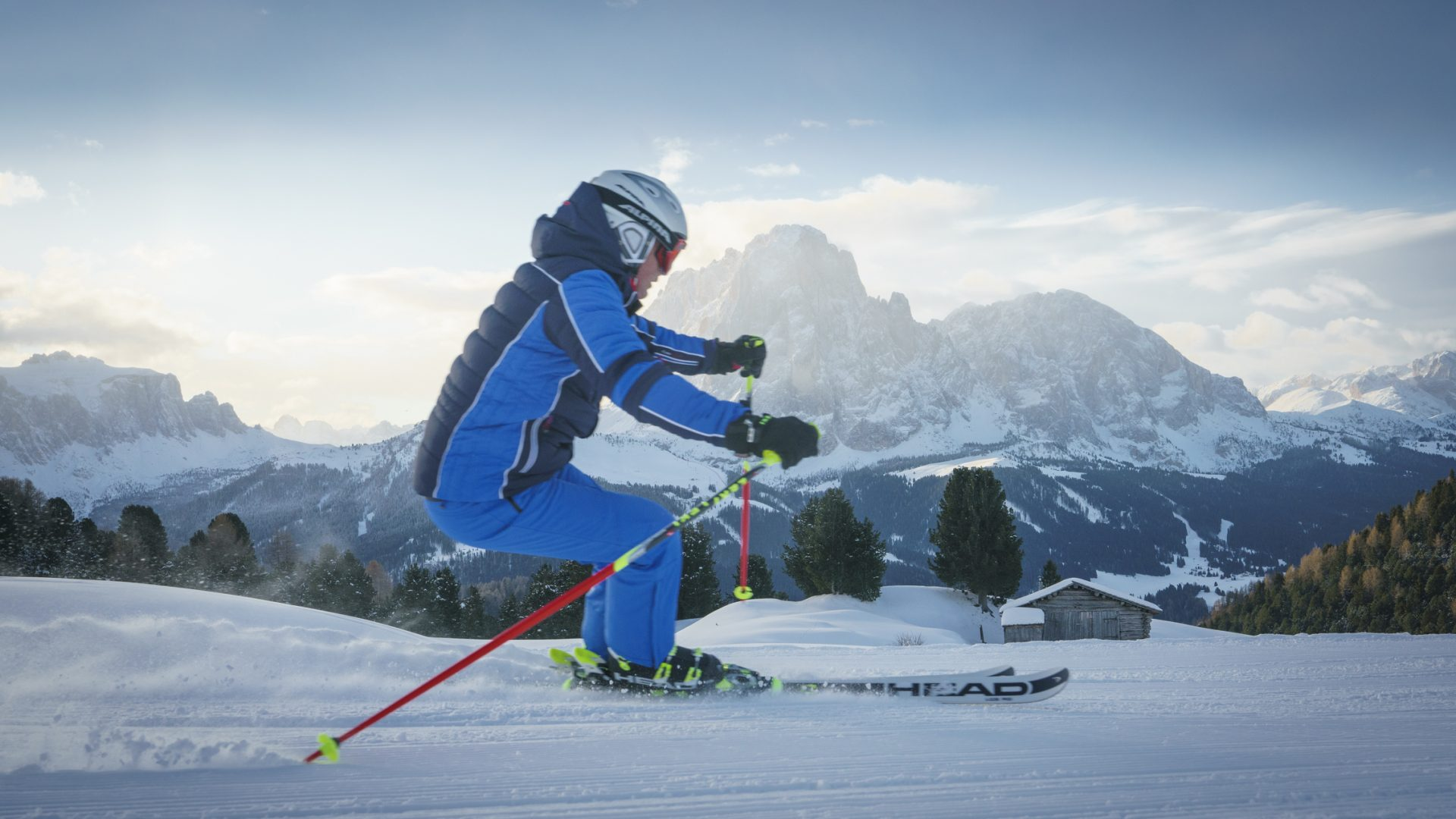 Val Gardena Winter